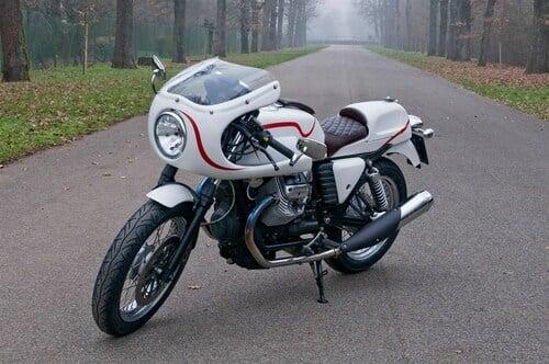 Le strane di Moto.it: Moto Guzzi V7 Peplo