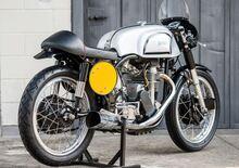 Norton Manx. La moto mitica