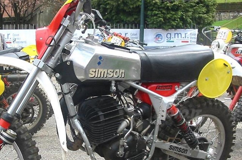 La Simson 175  del '81 di Marco Baio