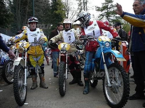 Da sinistra Franco Tura, Pietro Caccia e Gino Perego