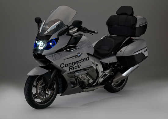 BMW, al CES un concept con fari laser