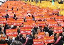 Corea, irruzione dipendenti GM: devastati gli uffici del CEO [video]