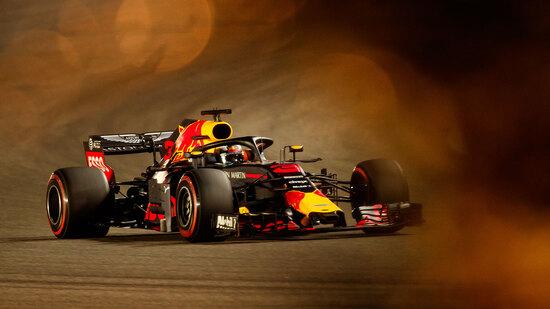 Daniel Ricciardo, della Red Bull, prenderà il via del GP del Bahrain dalla quarta piazzola in griglia