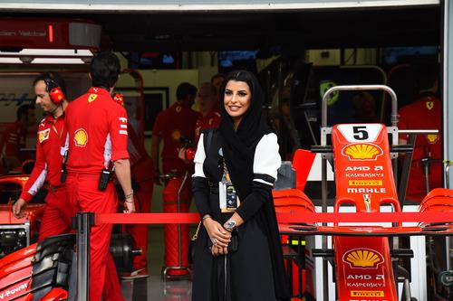 F1, GP Bahrain 2018: vince Vettel (5)
