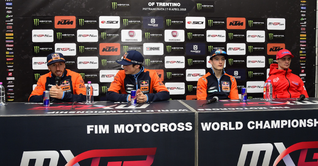 MX 2018, GP del Trentino. Interviste dal podio