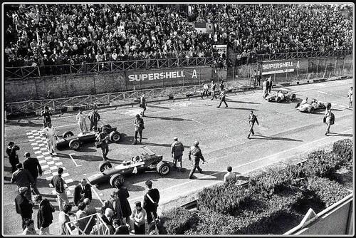 Gran Premio di Roma, Storia: 50 anni fa la vittoria ferrarista di Tino Brambilla con la Dino F2