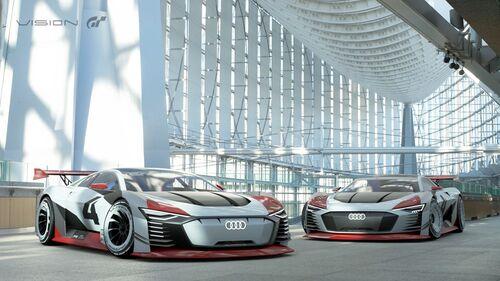 L'Audi e-tron Vision Gran Turismo diventa reale [Video] (3)