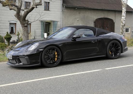 Porsche Speedster, la GT3 a cielo aperto?