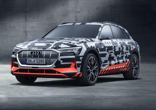 e-tron è in vendita: via ai preordini italiani del 1^ SUV elettrico Audi