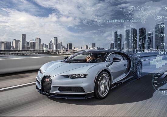 Bugatti sa tutto della tua Chiron. Come fa?