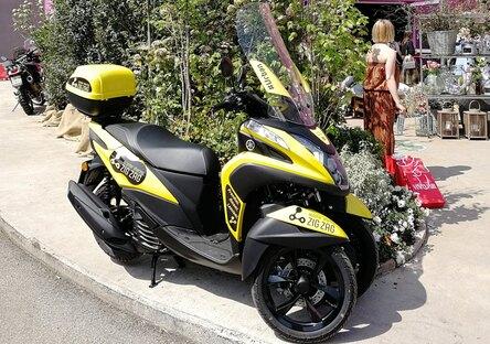 Zig Zag: nuovo scooter sharing a Milano con Yamaha Tricity 125