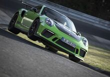 Porsche 911 GT3 RS: l'onboard del record al Nurburgring [Video]