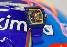 Alonso e Richard Mille: continua la collaborazione con McLaren