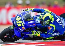 """MotoGP. Rossi: """"Marquez e Vinales i più veloci. Poi io e tanti altri"""""""