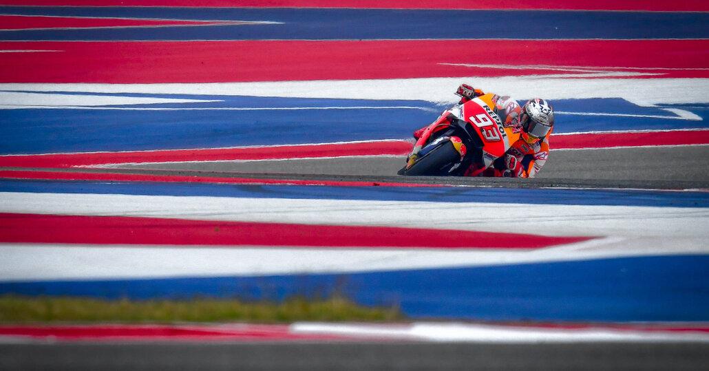 MotoGP.  Márquez trionfa nel GP delle Americhe 2018