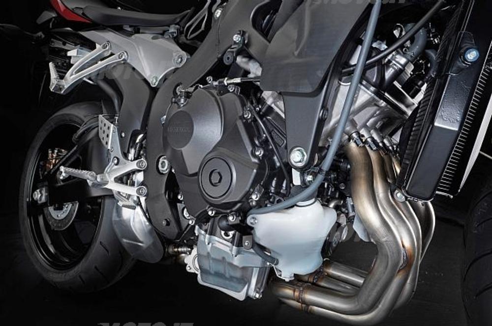 Il motore a 4 cilindri della Honda CBR600RR