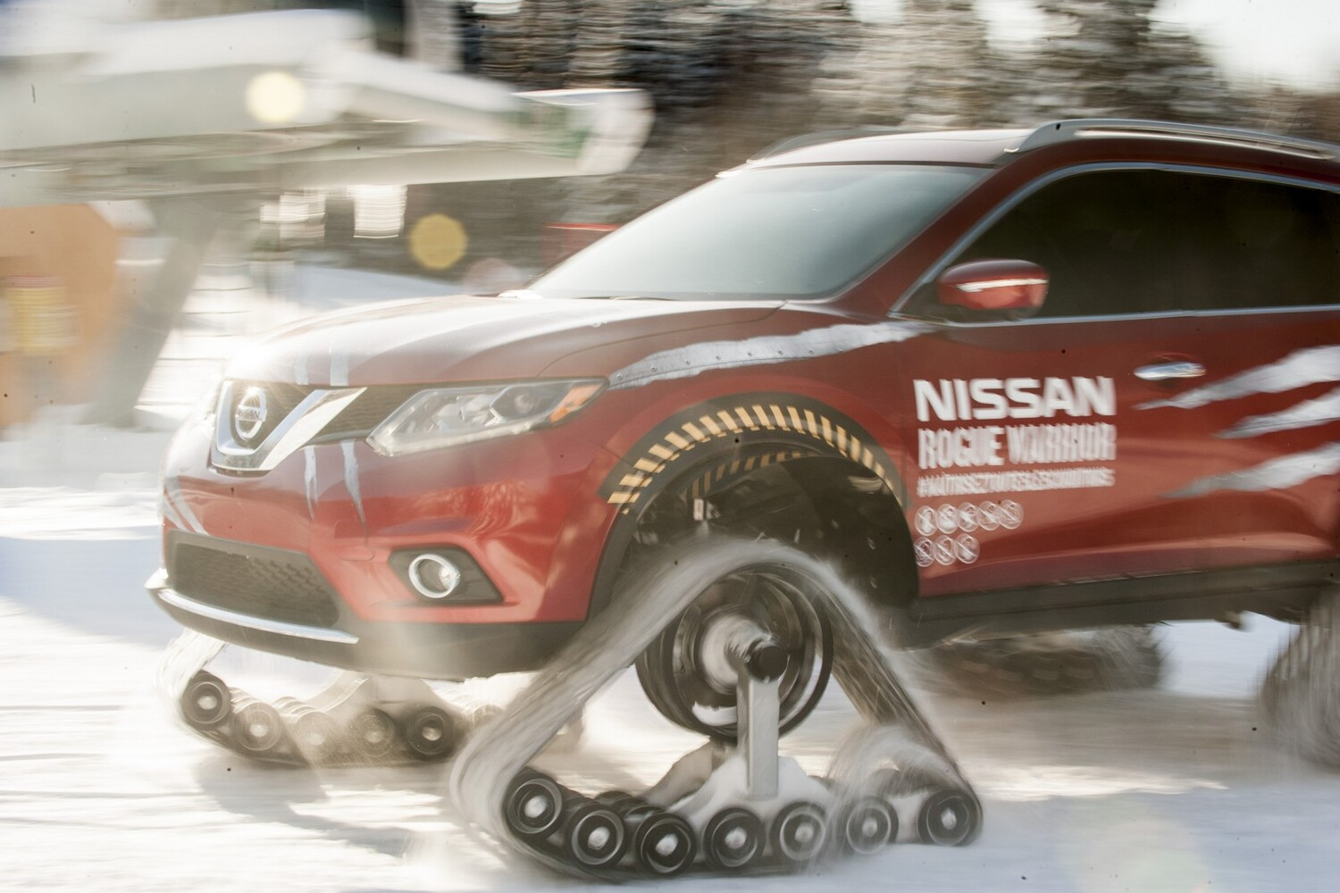 Nissan Rogue Warrior concept: l'inarrestabile?