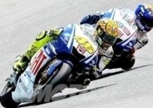 Rossi piega Lorenzo in Spagna!