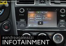 Subaru Levorg: il focus sull'infotainment [Video]
