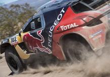 "Dakar 2016 Peugeot. Rumbo a Villa Carlos Paz. Vince Hirvonen, ""Peter"" e la 2008 DKR vicinissimi…"