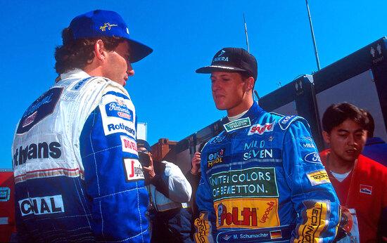 Quella gara fu vinta da Michael Schumacher senza che praticamente nessuno se ne accorgesse. Era impossibile realizzare i fatti