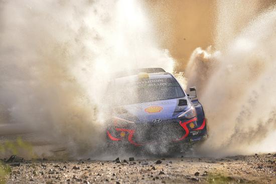 Un guado del WRC Argentina 2018
