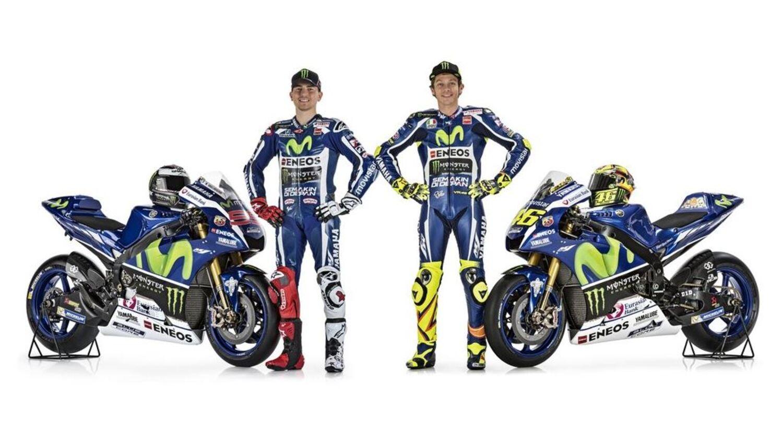 La presentazione del team Yamaha MotoGP e della nuova M1