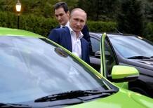 Pronta al debutto la nuova auto made in Russia di Vladimir Putin