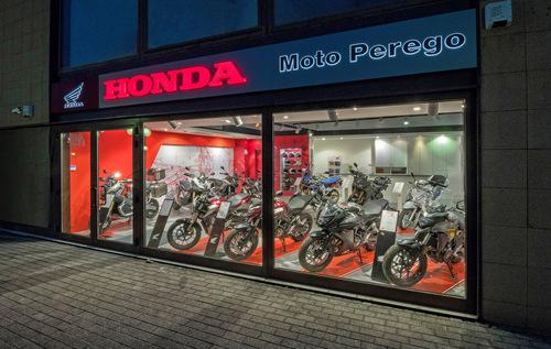 Moto Perego, dopo 34 anni diventa concessionaria esclusiva Honda per la provincia di Lecco