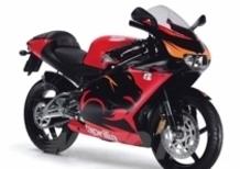 I lettori della rivista Motorrad eleggono l'Aprilia RS miglior moto 125 replica 2005