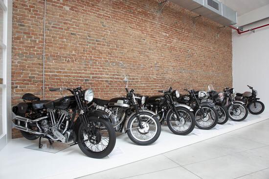 Le moto internazionali dell'esposizione
