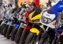 Vendita moto usate: in flessione nel primo quadrimestre 2018