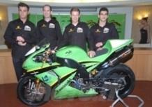 Livrea verde per il nuovo Team PSG-1 Kawasaki