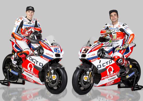 Pramac Racing festeggia 15 anni e presenta il team MotoGP 2016