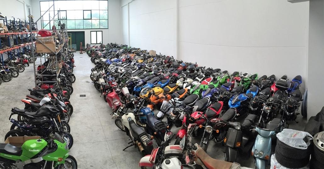 Demolire o rottamare una moto o uno scooter: come fare