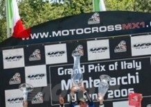 MX1 e MX2, GP d`Italia Montevarchi, trionfo Azzurro in MX2. KL Kawasaki Trophy