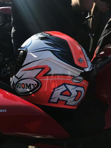 Suomy e Dovizioso da Ducati Brothers Moto Ancona (4)