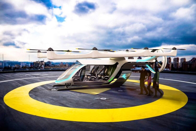 Nel 2023 si viaggerà sui taxi volanti