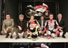 Presentata a Milano la squadra Gilera per il mondiale 250