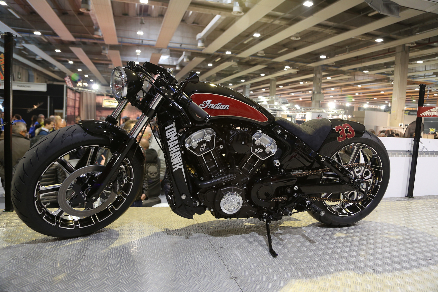 Motor Bike Expo 2016: Indian Tomahawk, una special per Daytona