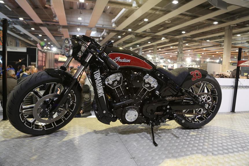 Motor Bike Expo 2016: Indian Tomahawk, una special per Daytona