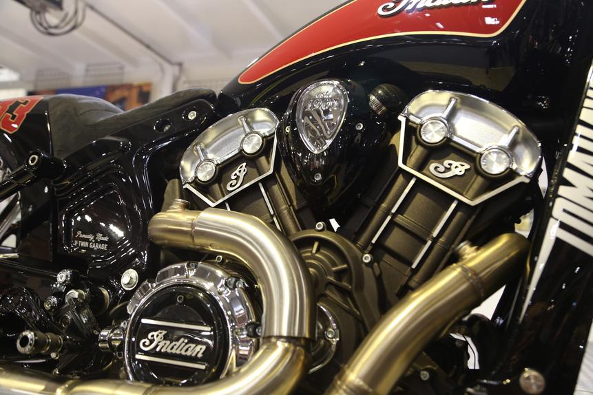 Motor Bike Expo 2016: Indian Tomahawk, una special per Daytona (5)