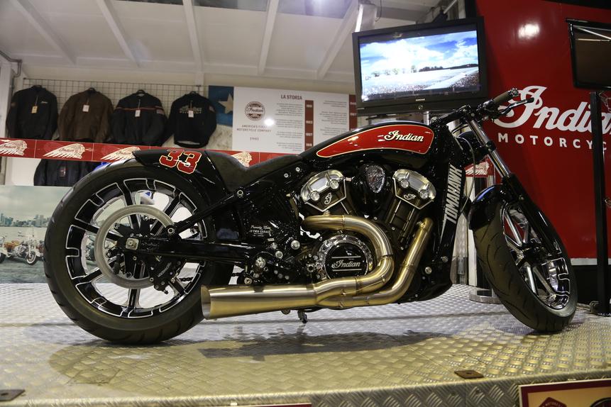 Motor Bike Expo 2016: Indian Tomahawk, una special per Daytona (2)