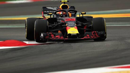 Max Verstappen, della Red Bull, prenderà il via del GP di Spagna 2018 dalla quinta posizione