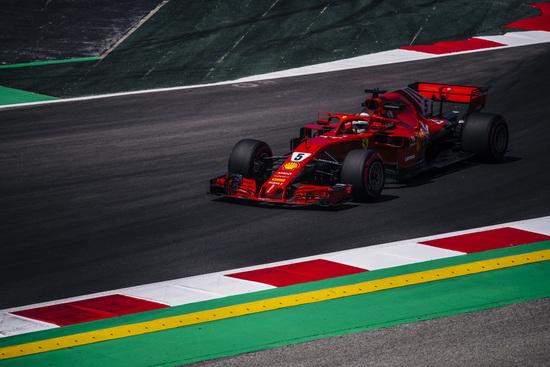 Sebastian Vettel in Spagna si deve accontentare del quarto posto