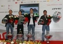Premiati a Rimini i Campioni Italiani di motociclismo Velocità 2007