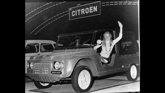 Ottobre 1968: il debutto della Méhari al Salone di Parigi