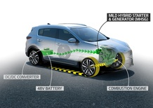 Kia, in arrivo il Diesel ibrido EcoDynamics+
