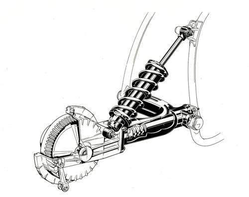 Nel 1980 la BMW ha adottato la sospensione posteriore a braccio oscillante singolo, denominata Monolever, sulla R 80 G/S, che ha aperto l'era delle enduro di grossa cilindrata
