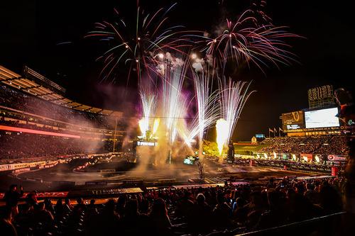Supercross. Le foto più belle di Anaheim 2